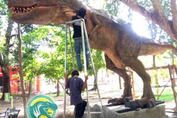 T Rex Animatronik Buatan Indonesia